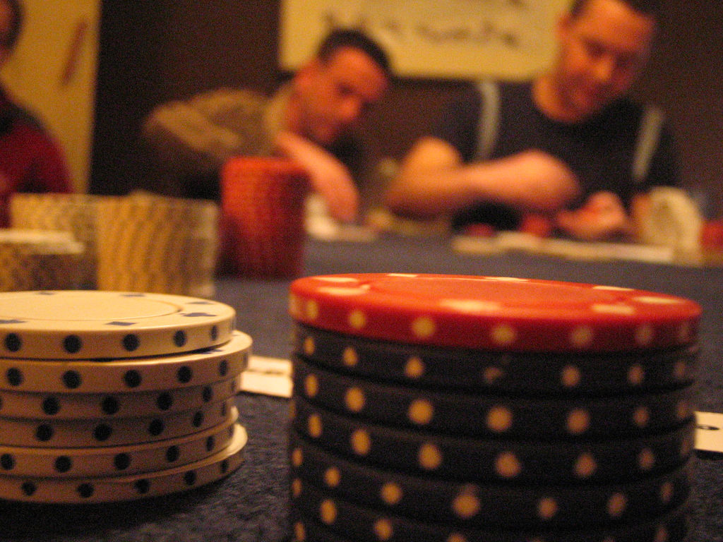 Poker games are a staple of many a man's night in